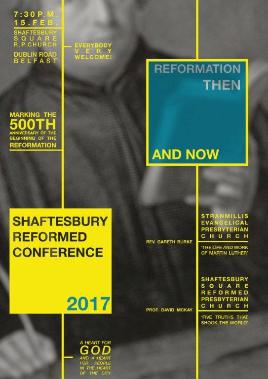 Shaftesbury Reformed Conference 2017